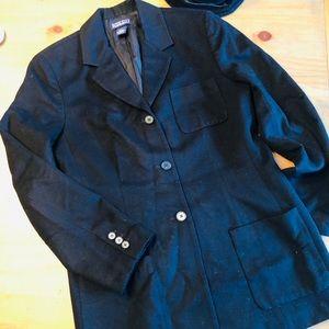 Wool cashmere blend jacket